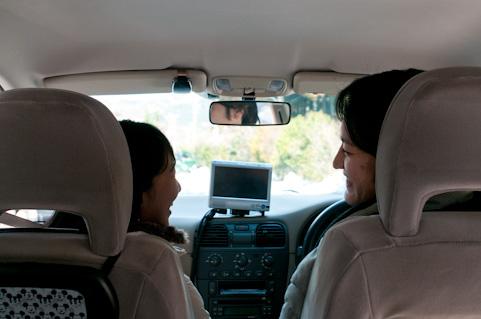 パート先の上司と車中でW不倫!妻の浮気調査