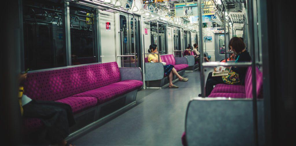 電車内の尾行と監視