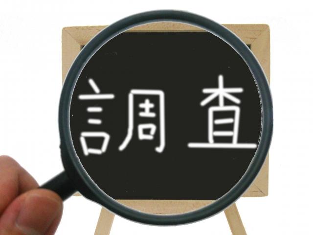 探偵 東京 実態調査表