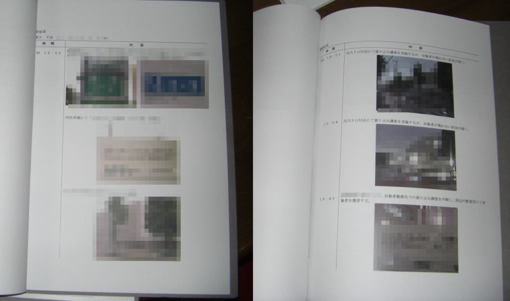 東京にある某探偵事務所の捏造報告書